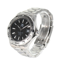 Load image into Gallery viewer, Tag Heuer Aquaracer Automatic WAP2010 Steel Black Dial 43mm Mens Watch