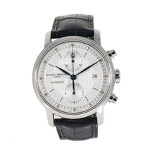 Load image into Gallery viewer, Baume & Mercier Classima Chronograph 65560 Steel & Grey 40mm Mens Watch
