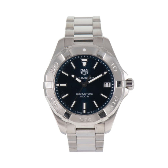 Tag Heuer Aquaracer WBD1312 Black & Steel Quartz 32mm Ladies Watch