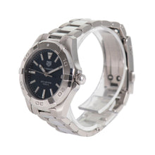 Load image into Gallery viewer, Tag Heuer Aquaracer WBD1312 Black & Steel Quartz 32mm Ladies Watch