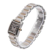 Load image into Gallery viewer, Cartier Tank Francaise 2384 Steel and Cream 20mm Ladies Watch