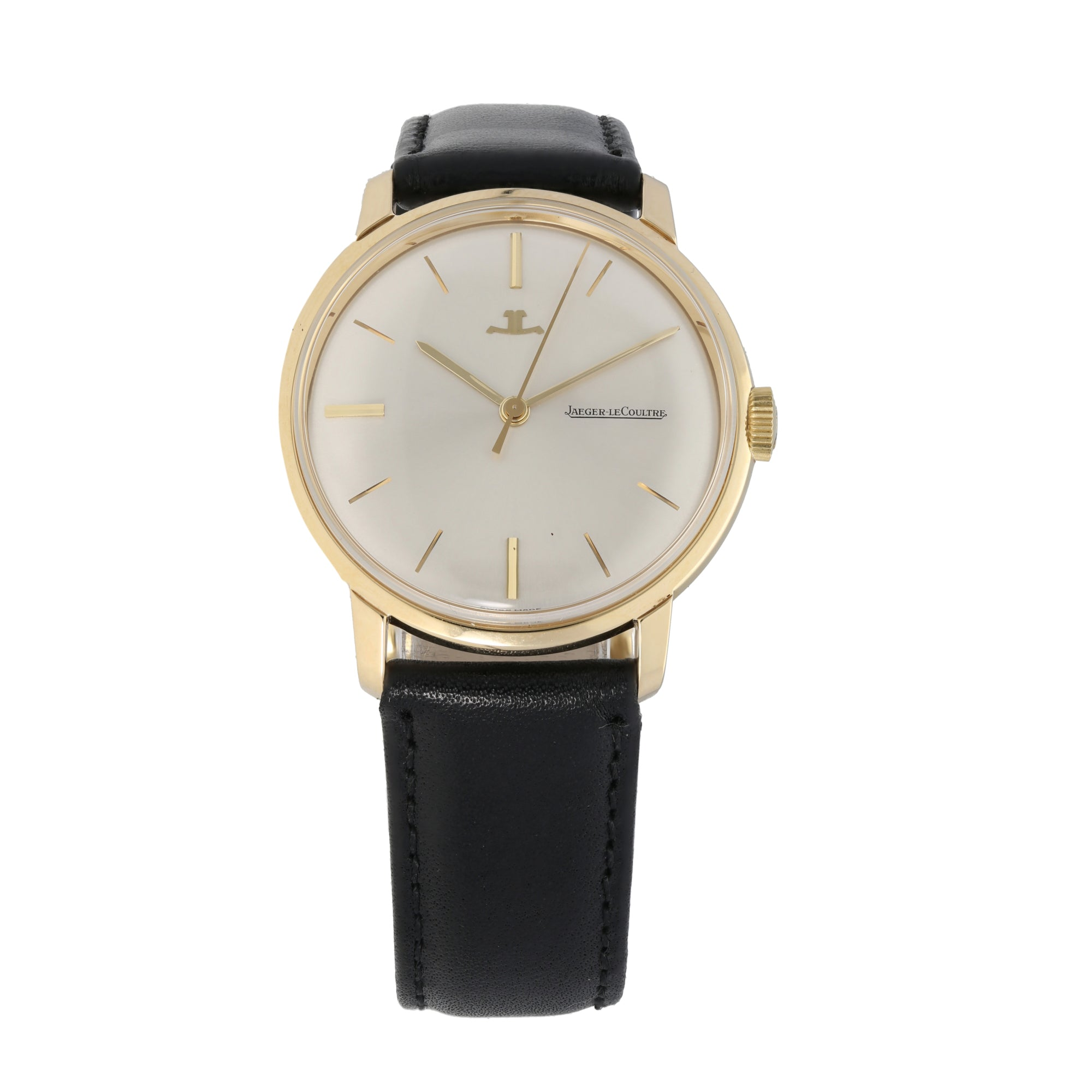 Jaeger-Lecoultre Vintage 34mm 9Ct Gold Mens Watch