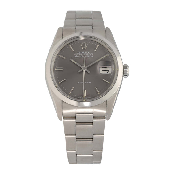 Rolex Air King 5700 34mm Stainless Steel Mens Watch