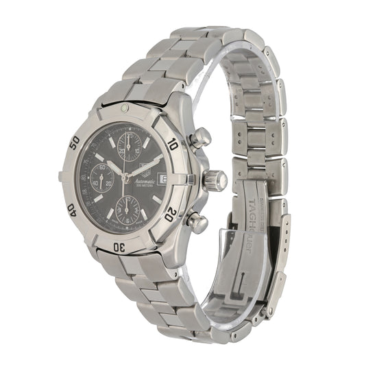 Tag Heuer 2000 Exclusive CN2111-0 40mm Stainless Steel Mens Watch