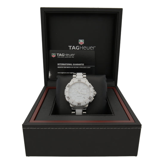 Tag Heuer Formula 1 CAH1211 41mm Stainless Steel Mens Watch