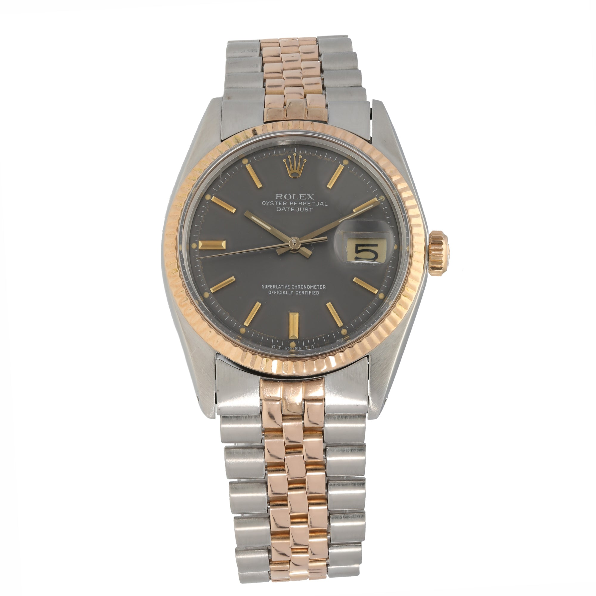 Rolex Datejust 1601 36mm Bi-Colour Men's Watch