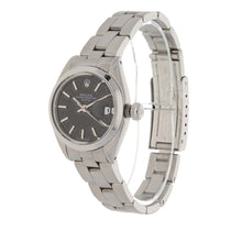 Load image into Gallery viewer, Rolex Date 6916 26mm Stainless Steel Ladies Watch