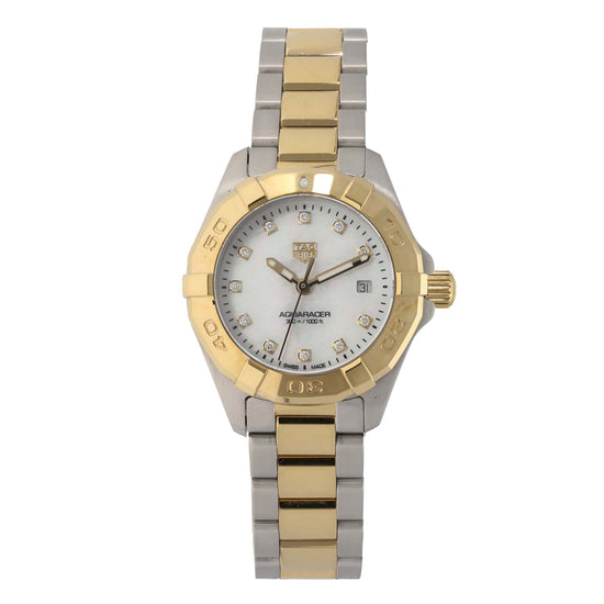 Tag Heuer Aquaracer WBD1422 27mm Bi-Colour Ladies Watch