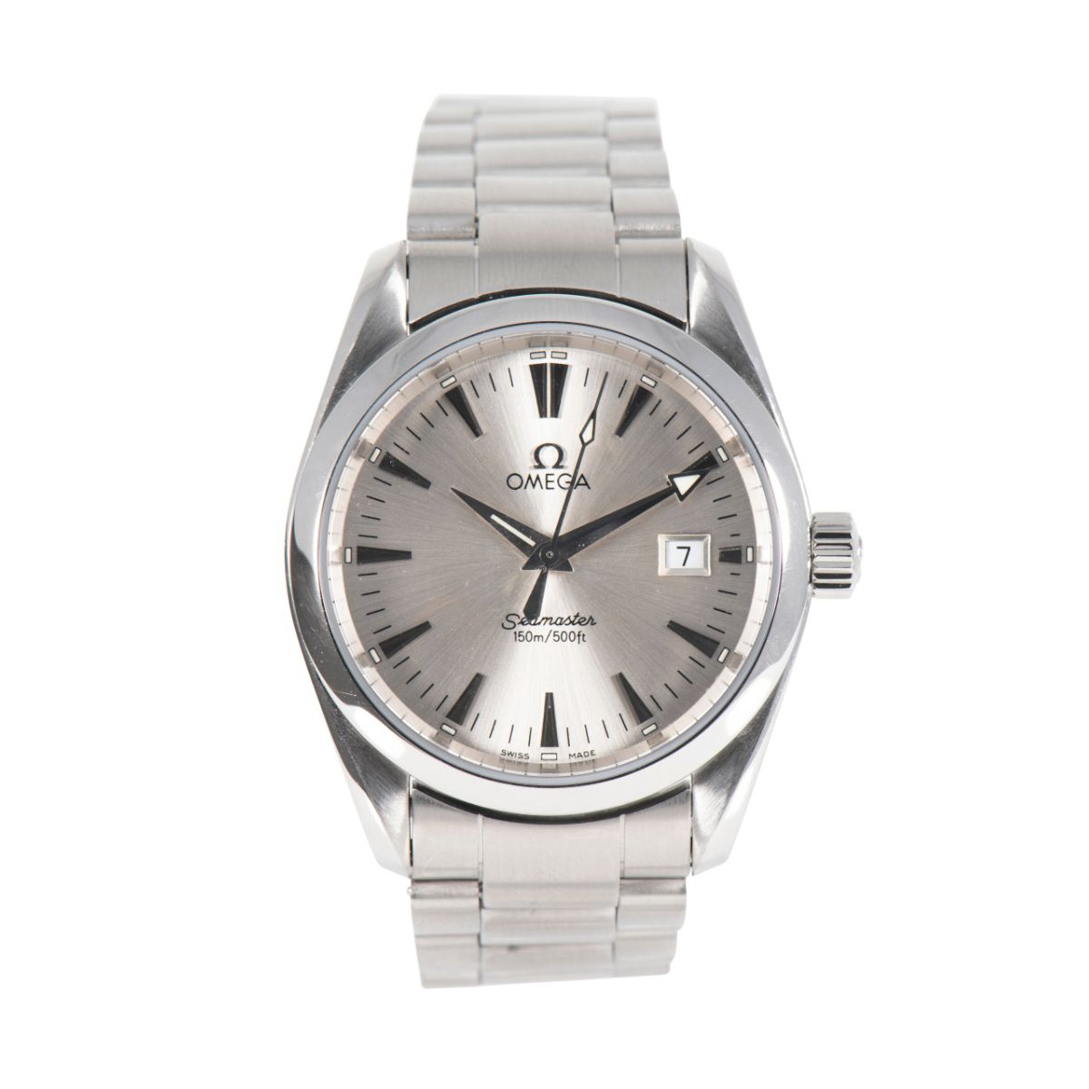 Omega Seamaster Aqua Terra 36mm Stainless Steel Mens Watch