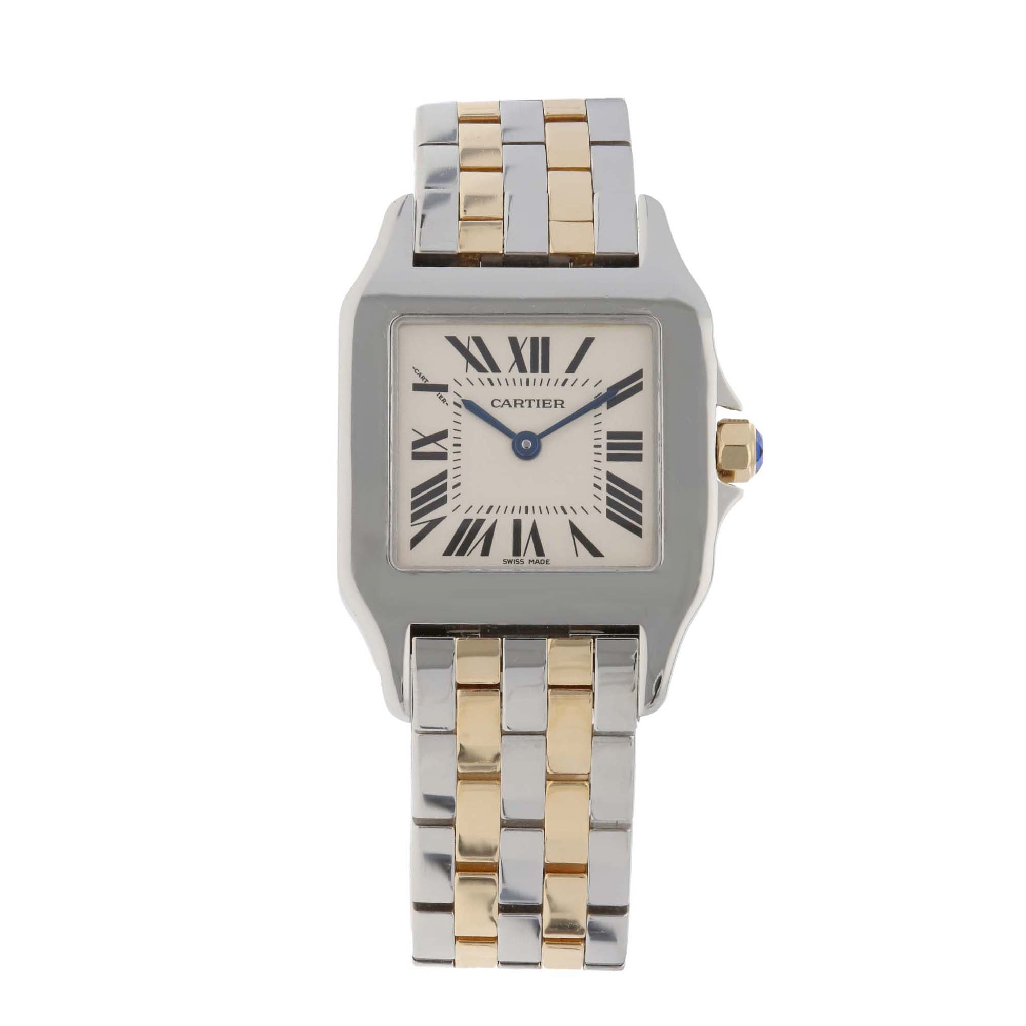Cartier Santos Demoiselle 2701 26mm Stainless Steel Ladies Watch