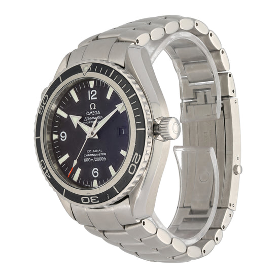 Omega Seamaster Planet Ocean 44mm Stainless Steel Mens Watch