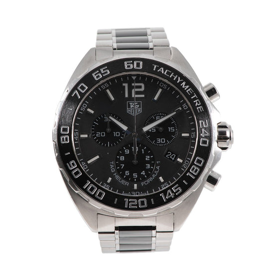 Tag Heuer F1 CAZ1111 Steel and Grey 42mm Mens Watch