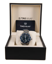 Load image into Gallery viewer, Tag Heuer Aquaracer WAY111C Steel & Blue 41mm Mens Watch