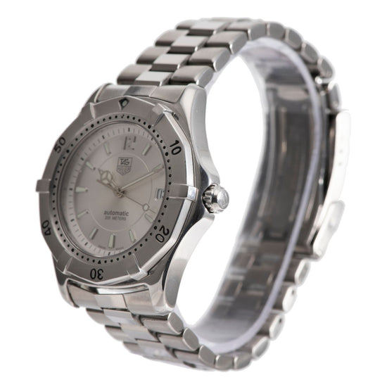 Tag Heuer 2000 Series WK2116-1 Steel & Grey 38mm Mens Watch