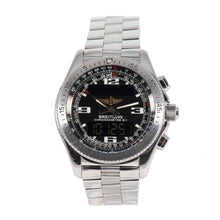 Load image into Gallery viewer, Breitling B1 A78362 Stainless Steel & Black Dial 43.5mm Mens Watch