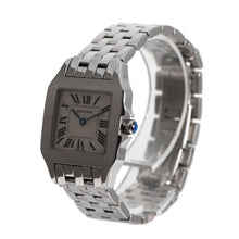 Load image into Gallery viewer, Cartier Santos Demoiselle 2701 26mm Cream & Stainless Steel Quartz Unisex Watch