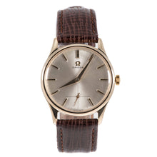 Load image into Gallery viewer, Omega Vintage 9ct Gold and Grey 33.5mm Mens Watch