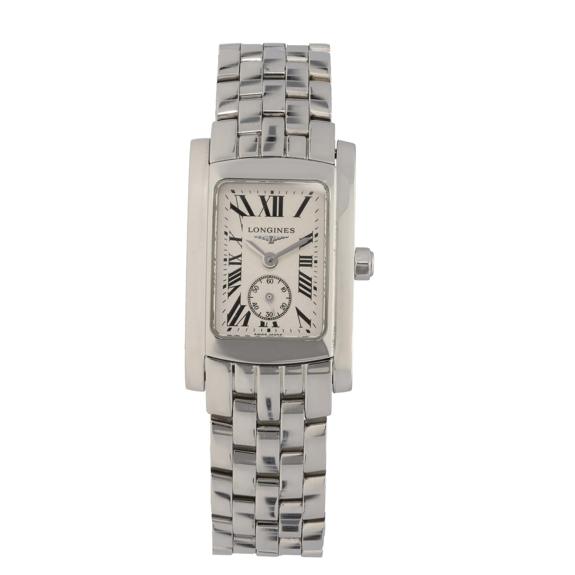 Longines DolceVita L5.155.4 20mm Stainless Steel Ladies Watch
