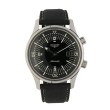 Load image into Gallery viewer, Longines Legend Diver L3.674.4 Steel & Black Automatic 42mm Mens Watch