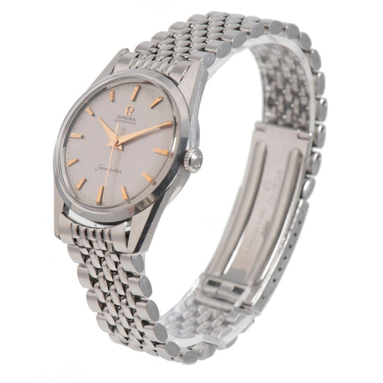 Omega Seamaster Steel and Grey 33.5mm Mens Watch