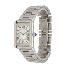 Load image into Gallery viewer, Cartier Tank Solo 3170 24.5mm Stainless Steel Mens Watch
