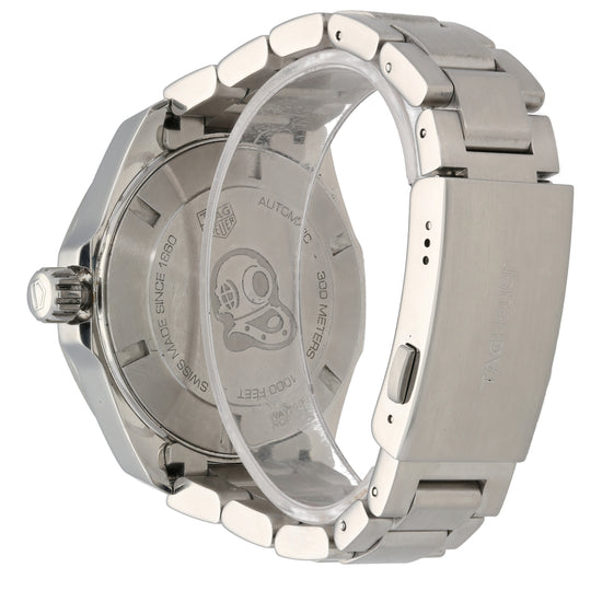 Tag Heuer Aquaracer Way201F 43mm Stainless Steel Mens Watch