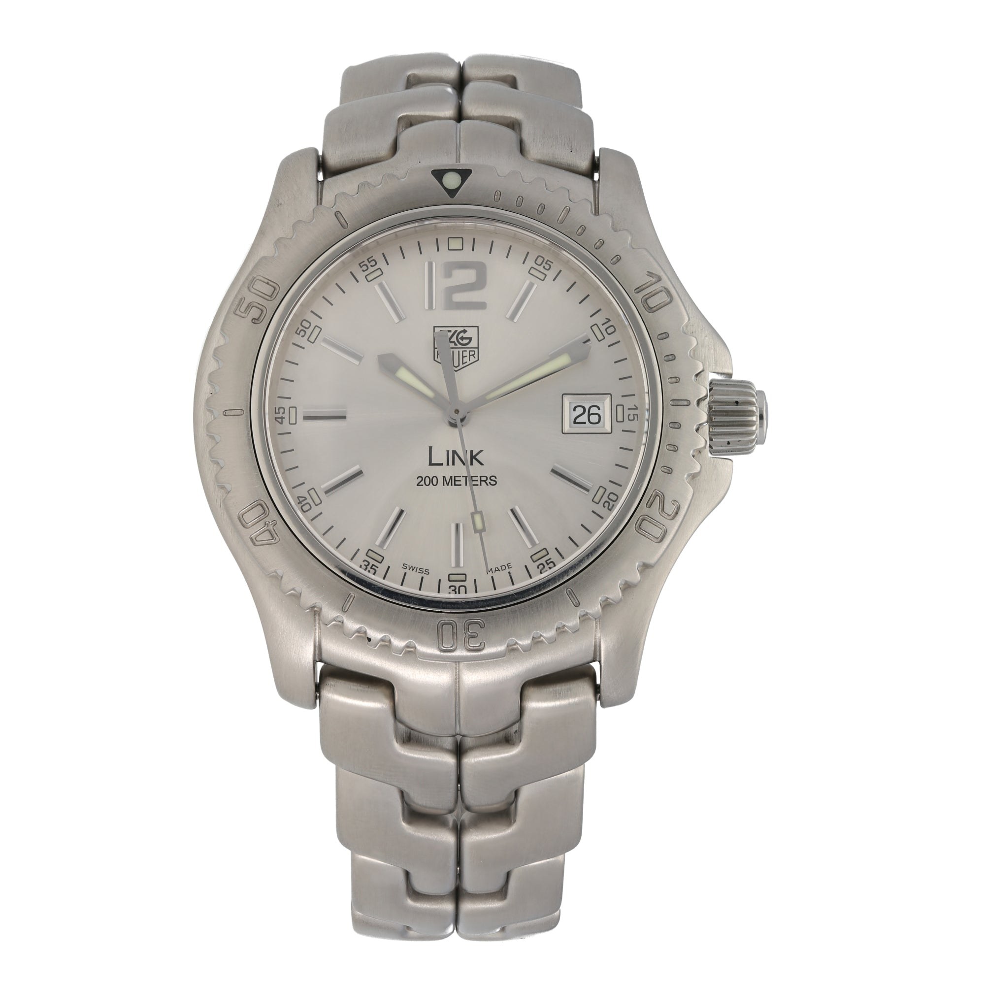Tag Heuer Link WT1112-0 40mm Stainless Steel Mens Watch