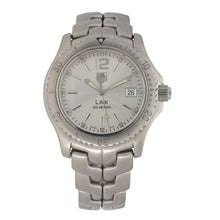 Load image into Gallery viewer, Tag Heuer Link WT1112-0 40mm Stainless Steel Mens Watch