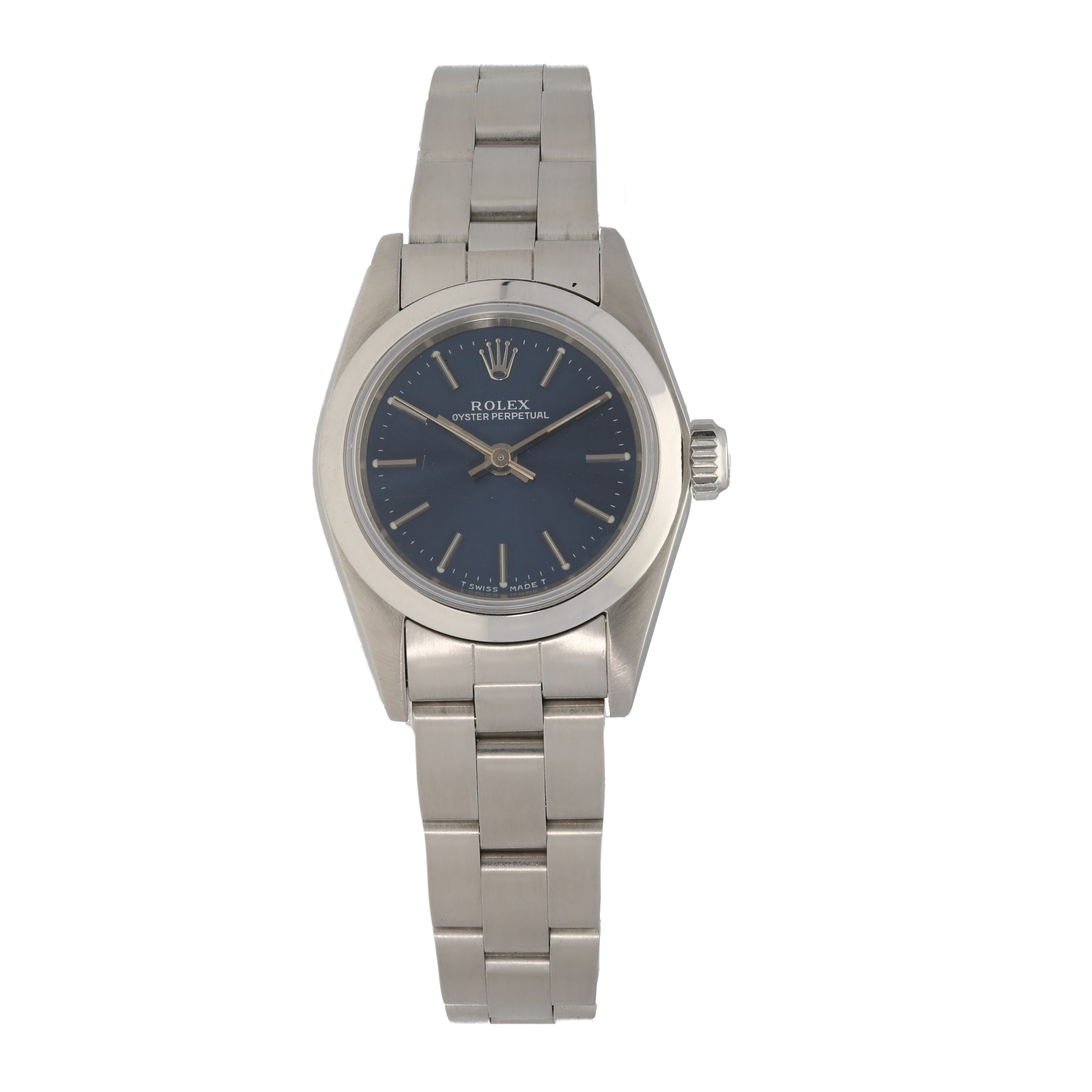 Rolex Oyster Perpetual 67180 24mm Stainless Steel Ladies Watch