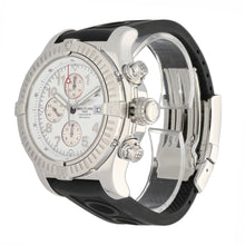 Load image into Gallery viewer, Breitling Super Avenger A13370 48.5mm Stainless Steel Mens Watch