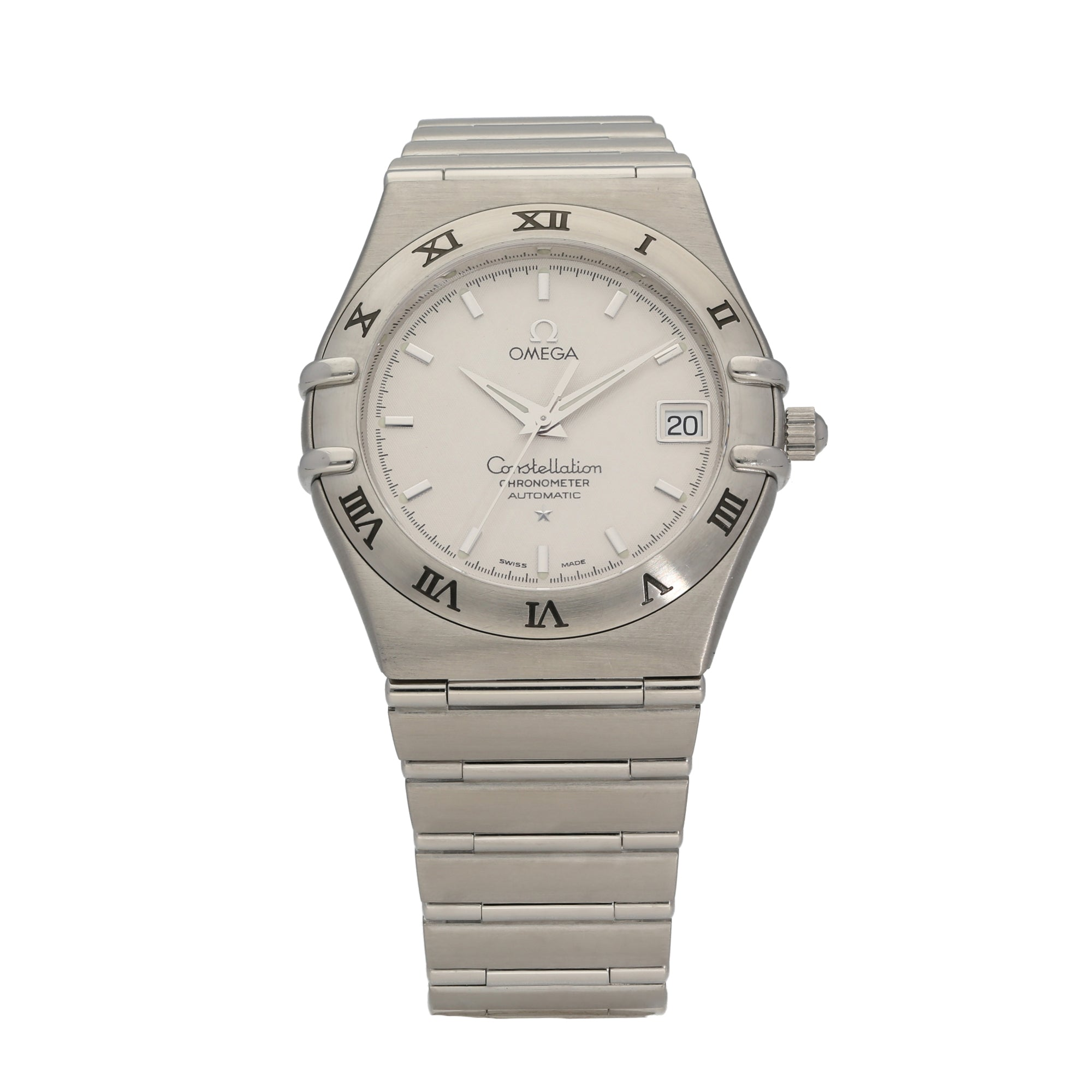 Omega Constellation 35.5mm Stainless Steel Mens Watch