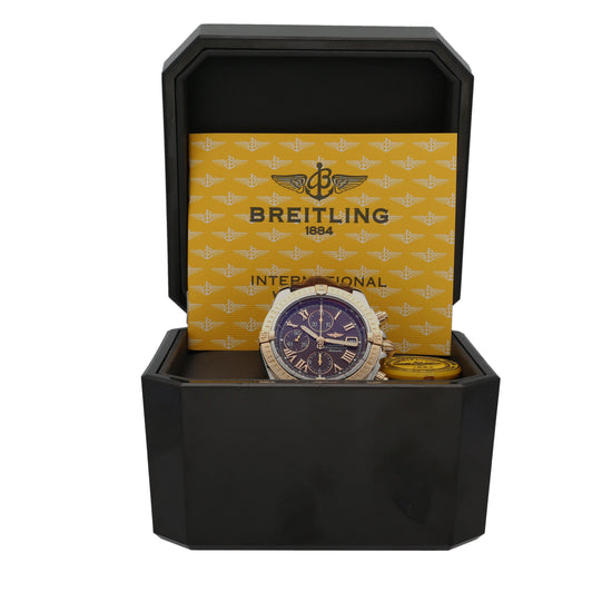 Breitling Chronomat Evolution C13356 44mm Bi Colour Mens Watch