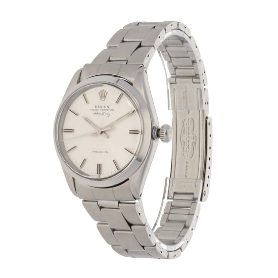 Rolex Oyster Perpetual 1005 34mm Stainless Steel Unisex Watch
