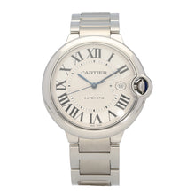 Load image into Gallery viewer, Cartier Ballon Bleu 3765 42mm Stainless Steel Mens Watch