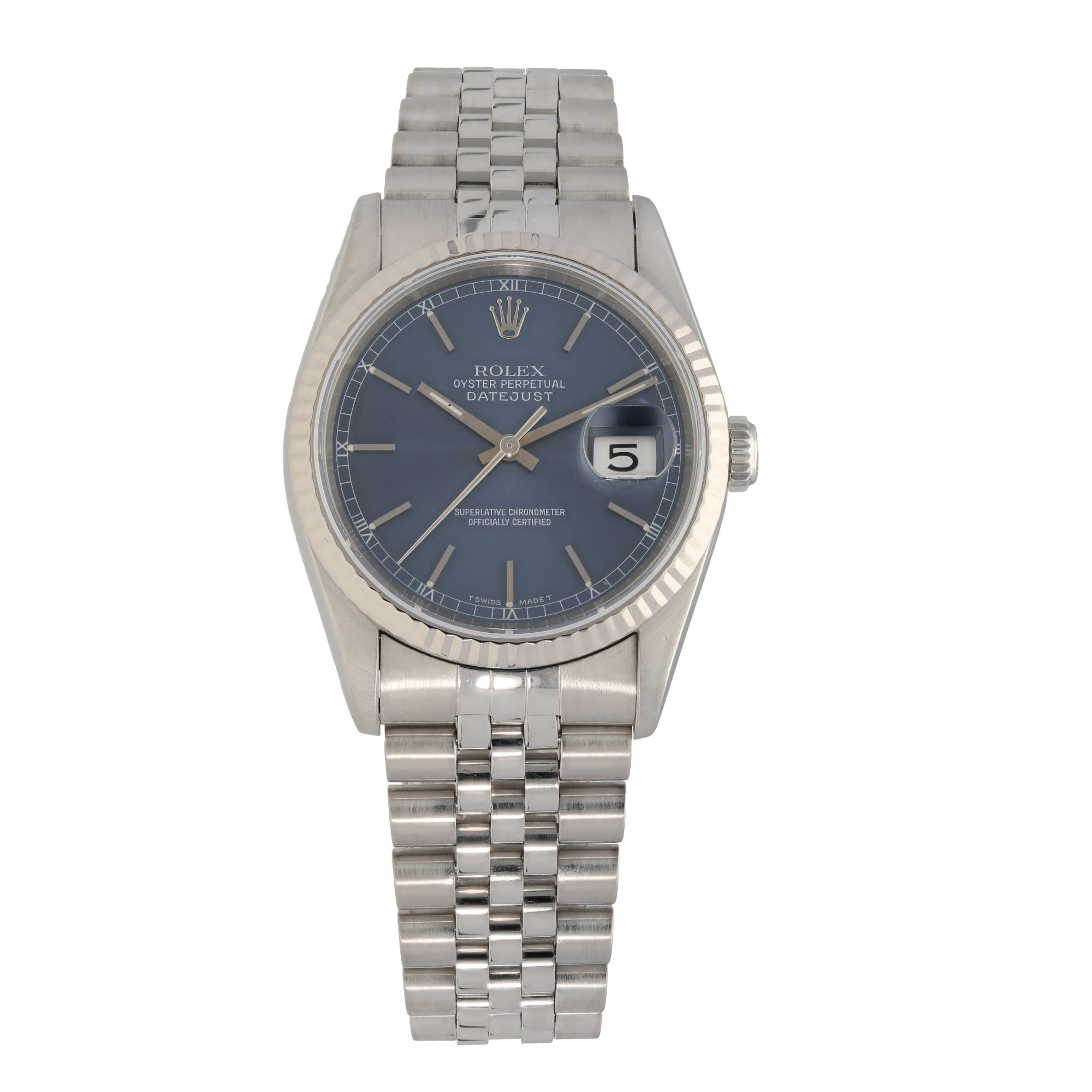 Rolex Datejust 16234 36mm Stainless Steel Mens Watch