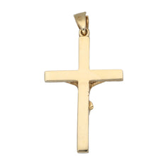 Load image into Gallery viewer, 9ct Gold Ladies Crucifix Pendant