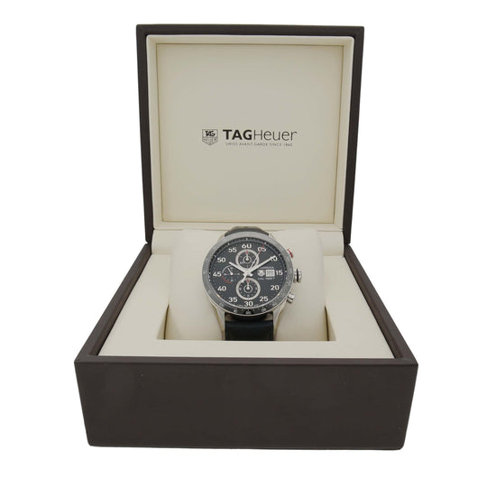 Tag Heuer Carrera CAR2A10-1 43mm Stainless Steel Mens Watch