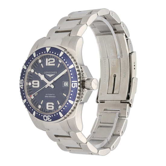 Longines Hydro Conquest L3.642.4 41mm Stainless Steel Mens Watch
