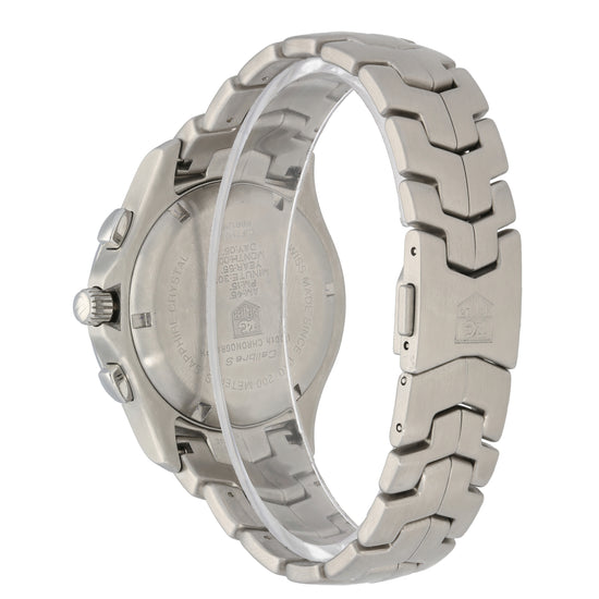 Tag Heuer Link CJF7110-0 42mm Stainless Steel Mens Watch