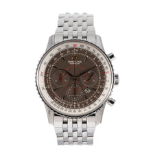 Load image into Gallery viewer, Breitling Montbrillant A41370 Steel & Brown 38mm Mens Watch