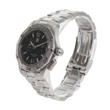 Load image into Gallery viewer, Tag Heuer Aquaracer Alarm WAF111Z Steel & Black 40mm Mens Watch