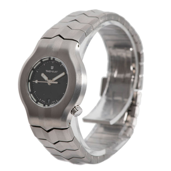 Tag Heuer Alter Ego WP1310-0 Steel & Black 29mm Ladies Watch