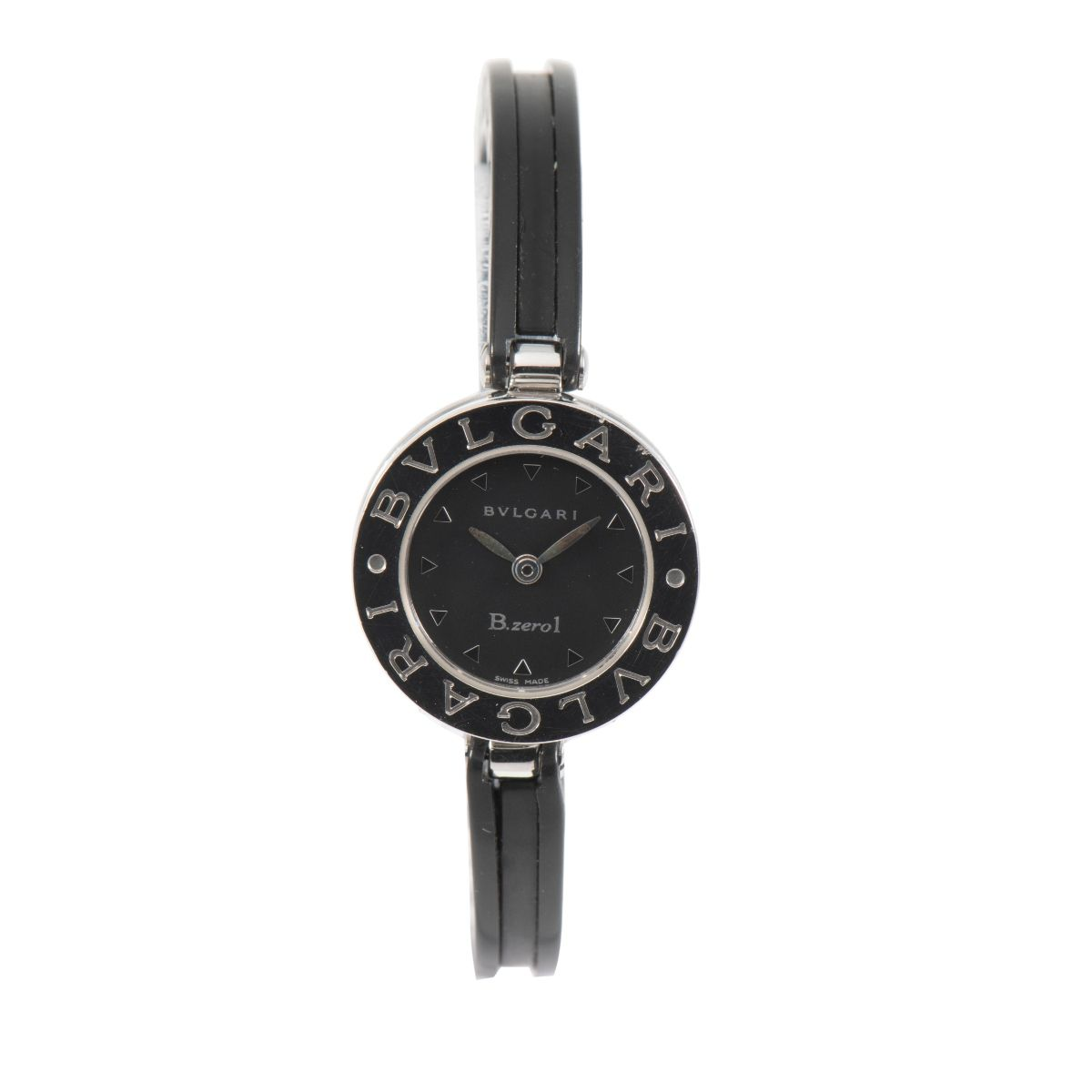 Bvlgari BZero1 BZ22S Quartz Steel & Black 22.5mm Ladies Watch