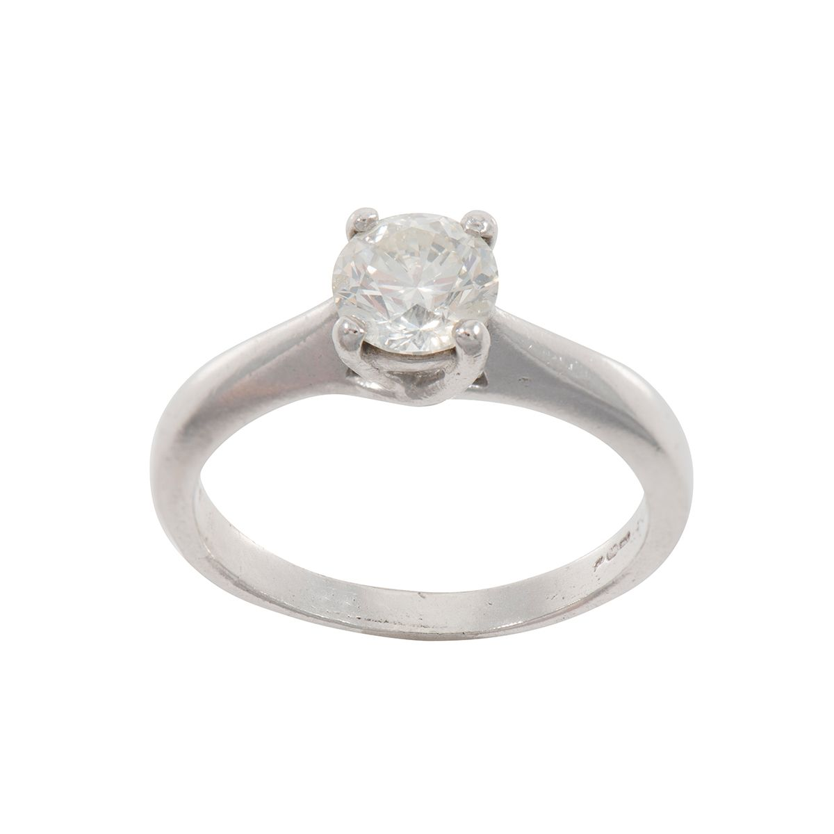 0.99ct Solitaire Diamond Ring (O) - #~2~MY