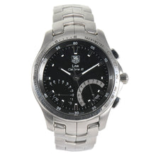 Load image into Gallery viewer, TAG Heuer Link Calibre CJF7110 Black & Steel 42mm Mens Watch