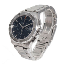 Load image into Gallery viewer, Tag Heuer Aquaracer Automatic Chronograph CAY2112 Blue Dial 44mm Mens Watch