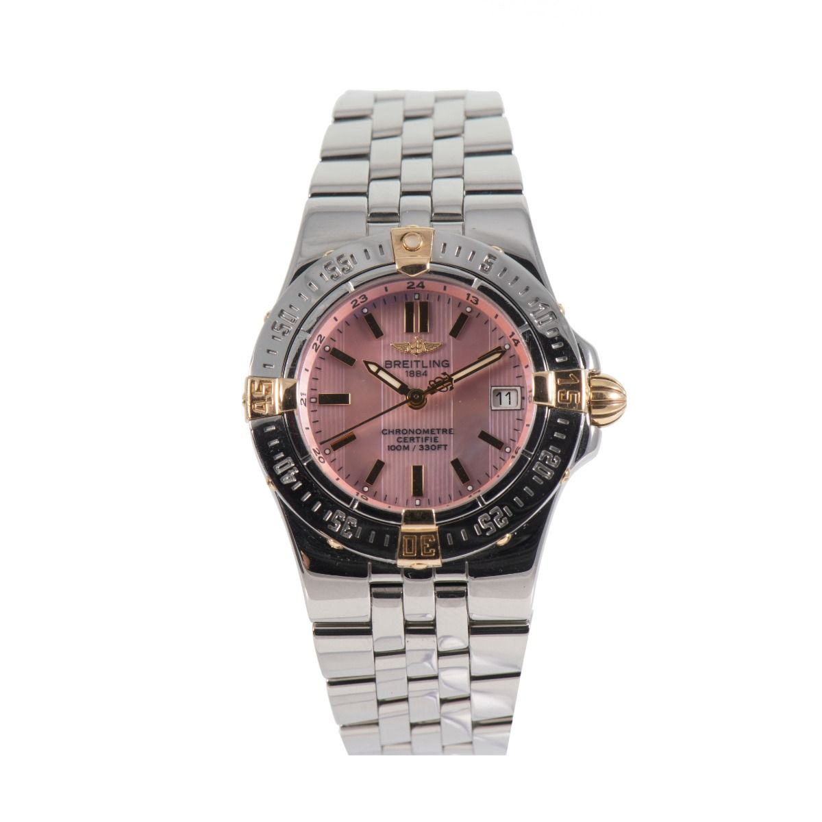 Breitling Starliner B71340 Mother of Pearl Steel 30mm Ladies Watch