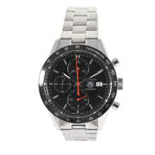 Load image into Gallery viewer, Tag Heuer Carrera Automatic Chronograph CV2014-1 Black Dial 41mm Mens Watch