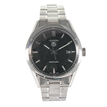 Load image into Gallery viewer, Tag Heuer Carrera Automatic WV211B-3 Stainless Steel Black Dial 38mm Mens Watch