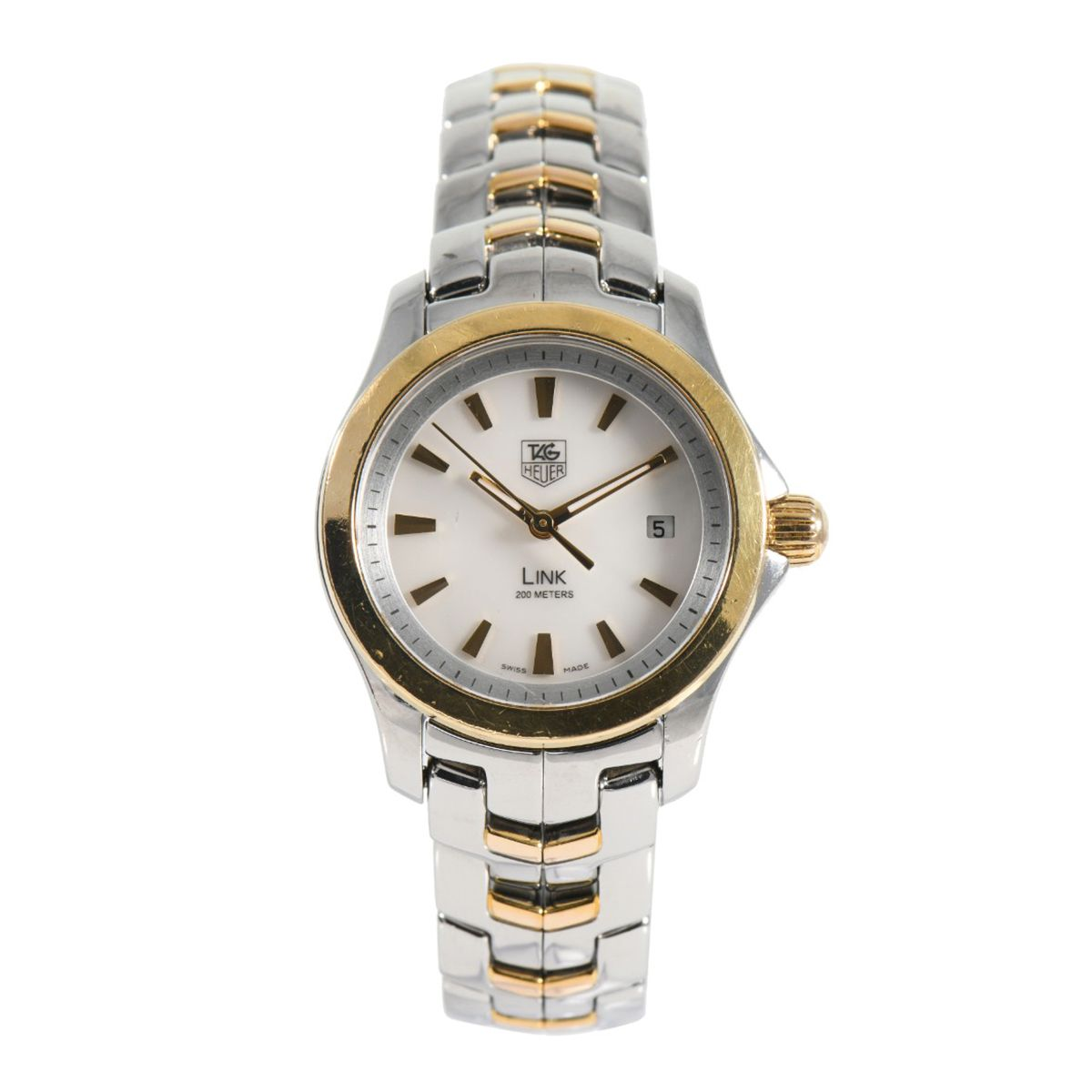 Tag Heuer Link WJF1352 - 27mm Bi-Colour Ladies Watch
